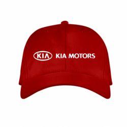 Детская кепка Kia Motors Logo - FatLine