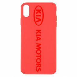 Чехол для iPhone X/Xs Kia Motors Logo