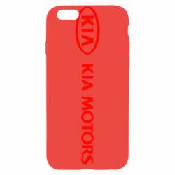 Чехол для iPhone 6/6S Kia Motors Logo