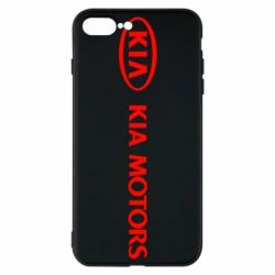 Чехол для iPhone 8 Plus Kia Motors Logo