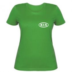 Женская футболка KIA Small - FatLine