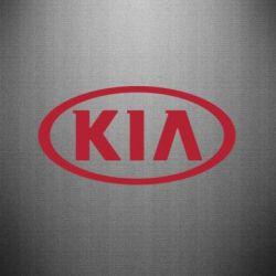 Наклейка KIA - FatLine