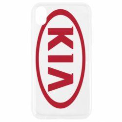 Чехол для iPhone XR KIA