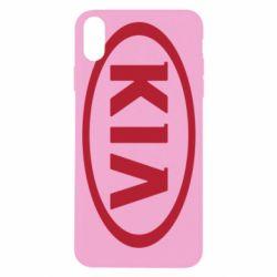 Чехол для iPhone X/Xs KIA