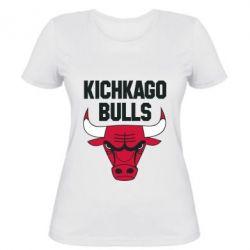 Женская футболка Kichkago Bulls