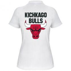 Женская футболка поло Kichkago Bulls