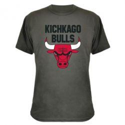 Камуфляжная футболка Kichkago Bulls