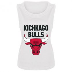Женская майка Kichkago Bulls