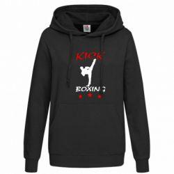 Женская толстовка Kickboxing Fight - FatLine