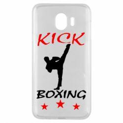Чохол для Samsung J4 Kickboxing Fight