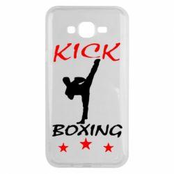Чохол для Samsung J7 2015 Kickboxing Fight