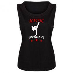 Женская майка Kickboxing Fight - FatLine