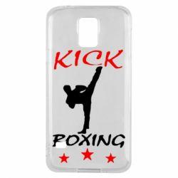 Чохол для Samsung S5 Kickboxing Fight