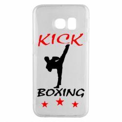 Чохол для Samsung S6 EDGE Kickboxing Fight