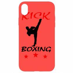 Чохол для iPhone XR Kickboxing Fight