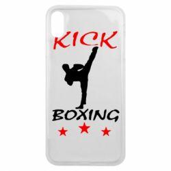 Чохол для iPhone Xs Max Kickboxing Fight
