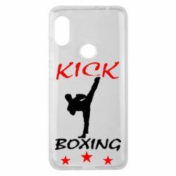 Чехол для Xiaomi Redmi Note 6 Pro Kickboxing Fight