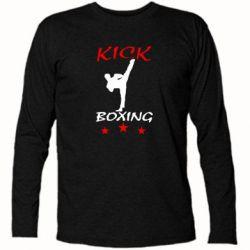 Футболка с длинным рукавом Kickboxing Fight - FatLine