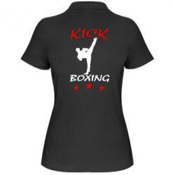 Женская футболка поло Kickboxing Fight - FatLine