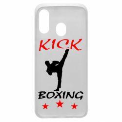Чохол для Samsung A40 Kickboxing Fight