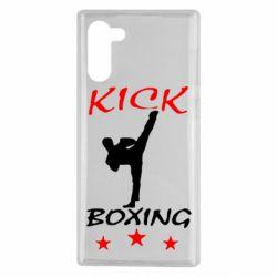 Чехол для Samsung Note 10 Kickboxing Fight