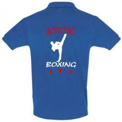 Мужская футболка поло Kickboxing Fight