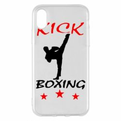 Чохол для iPhone X/Xs Kickboxing Fight