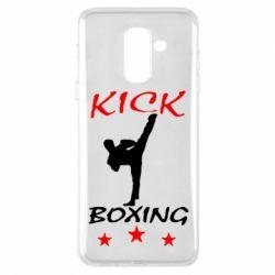 Чохол для Samsung A6+ 2018 Kickboxing Fight