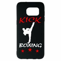 Чохол для Samsung S7 EDGE Kickboxing Fight
