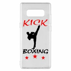 Чехол для Samsung Note 8 Kickboxing Fight