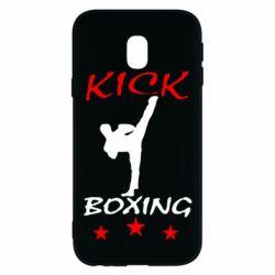 Чохол для Samsung J3 2017 Kickboxing Fight