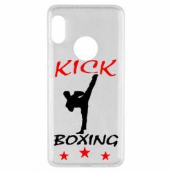 Чехол для Xiaomi Redmi Note 5 Kickboxing Fight