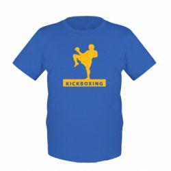Детская футболка Kickboxing Fighter - FatLine