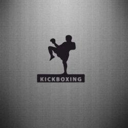Наклейка Kickboxing Fighter - FatLine
