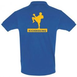 Мужская футболка поло Kickboxing Fighter