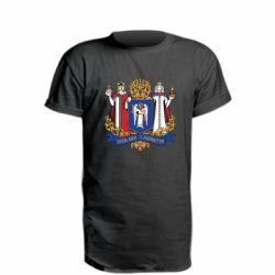 Удлиненная футболка Киев большой герб 1995