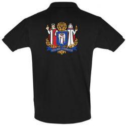 Мужская футболка поло Киев большой герб 1995