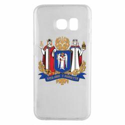 Чехол для Samsung S6 EDGE Киев большой герб 1995
