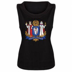 Женская майка Киев большой герб 1995