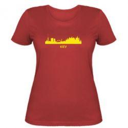 Женская футболка KIEV - FatLine
