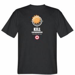 Чоловіча футболка Kill coronavirus the doctor will help