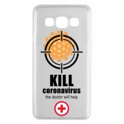 Чохол для Samsung A3 2015 Kill coronavirus the doctor will help