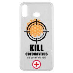 Чохол для Samsung A6s Kill coronavirus the doctor will help