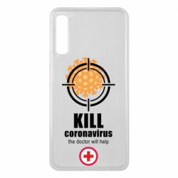 Чохол для Samsung A7 2018 Kill coronavirus the doctor will help