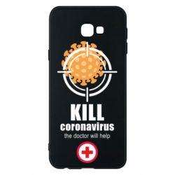 Чохол для Samsung J4 Plus 2018 Kill coronavirus the doctor will help