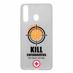 Чехол для Samsung A60 Kill coronavirus the doctor will help