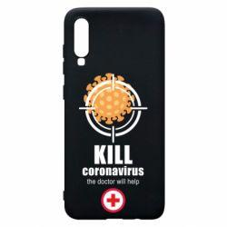Чехол для Samsung A70 Kill coronavirus the doctor will help