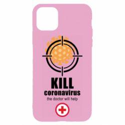 Чохол для iPhone 11 Kill coronavirus the doctor will help