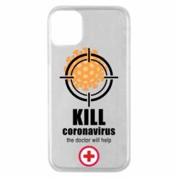 Чохол для iPhone 11 Pro Kill coronavirus the doctor will help