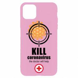Чохол для iPhone 11 Pro Max Kill coronavirus the doctor will help